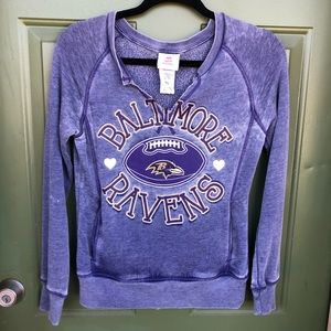 Baltimore Ravens v-Neck sweatshirt